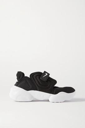 Nike Aqua Rift Rubber-trimmed Neoprene And Mesh Sneakers - Black