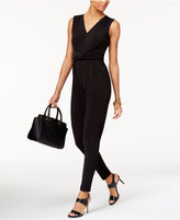 MICHAEL Michael Kors Twisted-Trim Jumpsuit