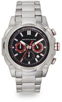 Saks Fifth Avenue Stainless Steel Chronograph Link Watch
