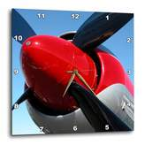 3dRose dpp_29338_1 Propeller Airplanes Photography-Wall Clock, 10 by 10-Inch