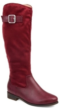 Journee Collection Frenchy Wide Calf Riding Boot