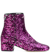 Chiara Ferragni Candy Street boots - women - Leather/Sequin - 36