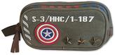 Marvel Captain America Vintage Canvas Toiletry Bag