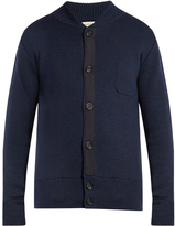 Oliver Spencer Milano grosgrain-detail merino-wool sweater