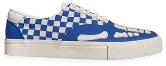 Amiri Checkered Low-Top Sneakers
