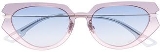 Christian Dior Attitude cateye sunglasses