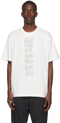 MONCLER GRENOBLE Off-White Logo T-Shirt