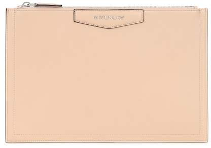 Givenchy Antigona leather clutch