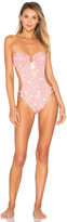 Ale By Alessandra Say Oui Hi Leg One Piece Swimsuit