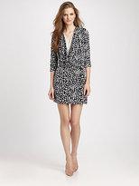 Diane von Furstenberg Rachel Silk Jersey Dress