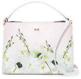 Ted Baker Candise Pearly Petal Bow Leather Medium Tote Bag