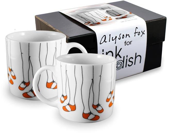 Ink Dish December 2 Mug Gift Box