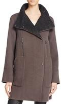 Elie Tahari Laura Wool Blend Coat