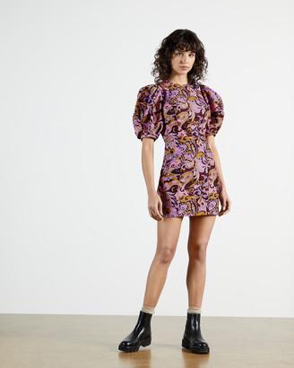 Ted Baker FLICKL Short Sleeve Printed Mini Dress