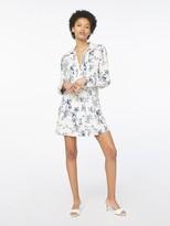 Frame Silk Toile Mix Dress