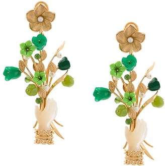OF RARE ORIGIN Capitol xx Collection bouquet earrings