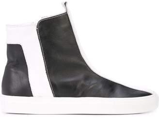 Alberto Fermani side zipped boots