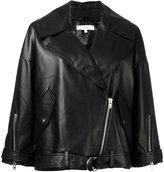 IRO Reza jacket - women - Lamb Skin/Polyester/Viscose - 32