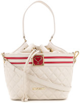 Love Moschino quilted drawstring shoulder bag - women - Polyurethane - One Size