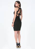 Bebe Natalie Cage Back Dress
