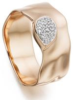 Monica Vinader Siren Diamond Wide Band Ring