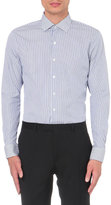 Sandro Striped Slim-fit Cotton Shirt