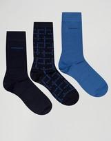 HUGO BOSS BOSS By 3 Pack Socks Gift Set