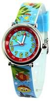 Baby Watch 3700230606191 Coffret Bon-Heure Aquatique - Wristwatch Boy's, Plastic, Band Colour: Multicolour