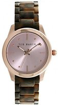 Ted Baker Women's 10025276 Classic Analog Display Japanese Quartz Brown Watch