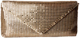 Jessica McClintock Grace Mesh Envelope Clutch