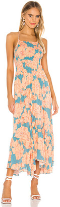 Free People Heatwave Printed Midi Dress