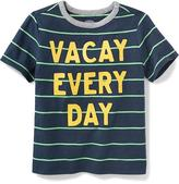 "Old Navy ""Vacay Every Day"" Graphic Tee for Toddler"