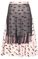 Balenciaga Layered Jacquard Skirt