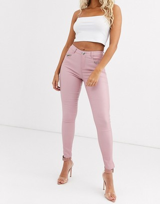 Lipsy coated jeans-Pink