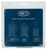 Bric's Transparent Custom Cover for 21-Inch Riccione/Capri Spinner Trunks