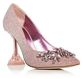 Jeffrey Campbell Women's Lure Crystal High-Heel Pumps
