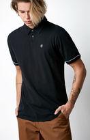 Brixton Carlos Black Polo Shirt