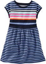 Osh Kosh 2-Piece Neon Striped Dress