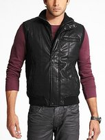 GUESS Faux-Leather Vest