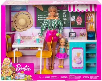 Barbie Dolls and Playset