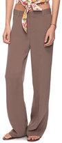 Wide Leg Woven Pants