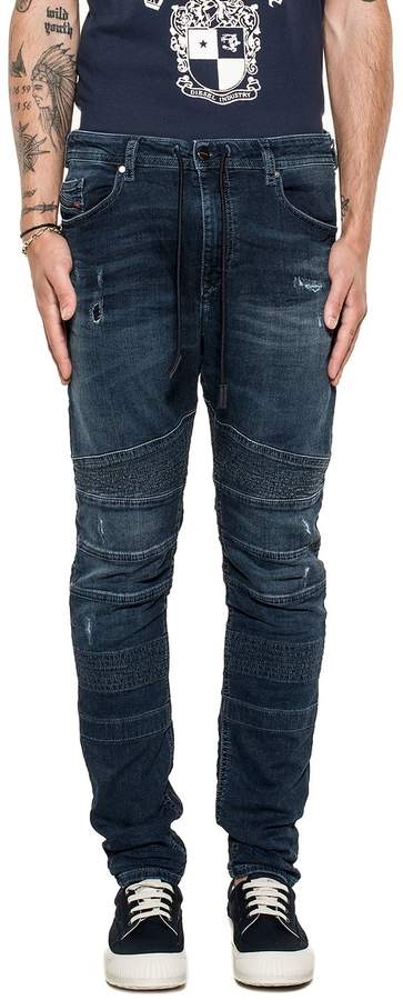 Diesel Dark Blue Bakari Denim Jeans