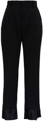 Noir Kei Ninomiya Black Wool Pants