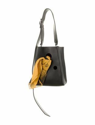 Calvin Klein Andy Warhol Leather Bucket Bag Black Andy Warhol Leather Bucket Bag