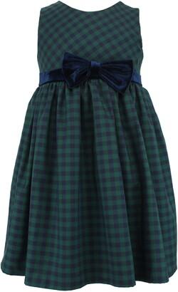 Popatu Check Sleeveless Dress