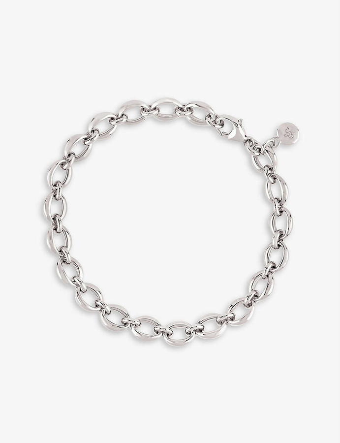 Thumbnail for your product : THE ALKEMISTRY Dinny Hall sterling silver chain bracelet