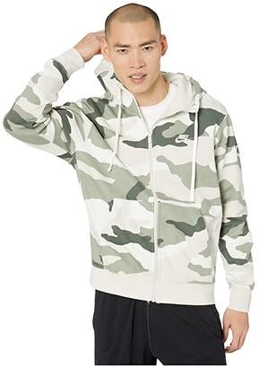 Nike NSW Club Hoodie Full Zip Camouflage