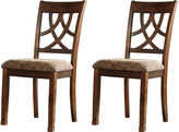 Signature Design by Ashley Leahlyn Set of 2 Side Chairs