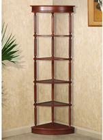 """Andover Mills Starr 72"""" Corner Unit Bookcase"""