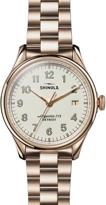 Shinola The Vinton Bracelet Watch, 38mm